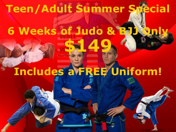 Wall to Wall Martial Arts » Your Freestyle Judo, BJJ, and